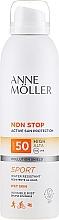 Parfumuri și produse cosmetice Spray de protecție solară pentru corp - Anne Moller Non Stop Active Sun Invisible Mist SPF50