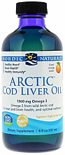 """Parfumuri și produse cosmetice Supliment alimentar cu aromă de portocală 1060 mg """"Omega-3"""" - Nordic Naturals Arctic Cod Liver Oil"""