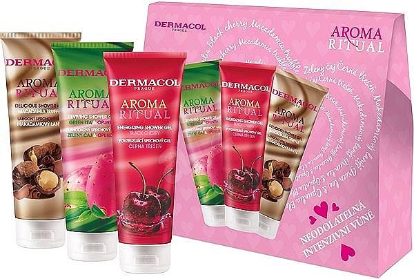 Set - Dermacol Aroma Ritual Shower Gels (sh/gel/250ml+sh/gel/250ml+sh/gel/250ml) — Imagine N1