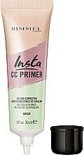 Parfumuri și produse cosmetice Primer pentru față - Rimmel Insta CC Primer Colour Correcting