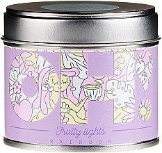 "Parfumuri și produse cosmetice Lumânare aromatică ""Rainbow"" - Oh!Tomi Fruity Lights Rainbow Candle"