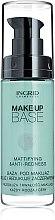 Parfumuri și produse cosmetice Bază corectoare pentru machiaj - Ingrid Cosmetics Make Up Base