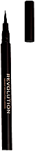 Parfumuri și produse cosmetice Tuș rezistent la apă - Makeup Revolution The Liner Revolution