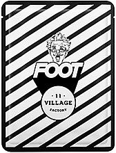 Parfumuri și produse cosmetice Mască hidratantă pentru picioare, șosete - Village 11 Factory Relax Day Foot Mask