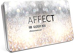 Parfumuri și produse cosmetice Husă pentru farduri de ochi - Affect Cosmetics Glossy Box Mini Aluminium Palette