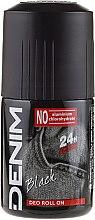 Parfumuri și produse cosmetice Denim Black - Deodorant roll-on