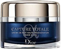 Parfumuri și produse cosmetice Cremă de noapte regeneratoare pentru față și gât - Dior Christian Dior Capture Totale Nuit Intensive Night Restorative Creme