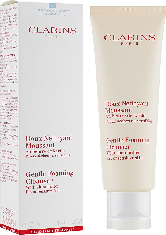 Demachiant - Clarins Gentle Foaming Cleanser with Shea Butter
