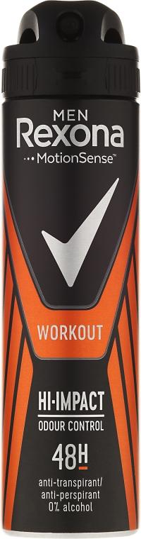 Deodorant-spray - Rexona Men Motionsense Workout Hi-impact 48h Anti-perspirant