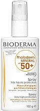 Parfumuri și produse cosmetice Spray de protecție solară pentru corp - Bioderma Photoderm Mineral SPF 50+ Spray