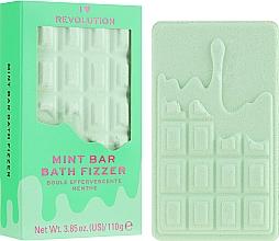 """Parfumuri și produse cosmetice Bombă pentru baie - I Heart Revolution Chocolate Bar Bath Fizzer """"Mint"""""""