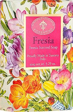 """Săpun natural """"Freesia"""" - Saponificio Artigianale Fiorentino Masaccio Freesia Soap"""