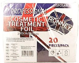 Parfumuri și produse cosmetice Folie incoloră de protecție, 200/160 cm - Ronney Professional Cosmetic Treatment Foil