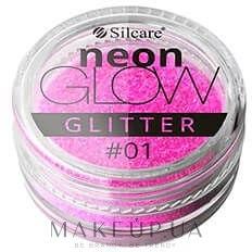 Глиттер для ногтей - Silcare Brokat Neon Glow — фото 01