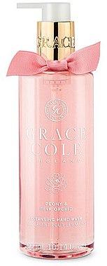Săpun lichid pentru mâini - Grace Cole Peony & Pink Orchid Liquid Hand Soap — фото N1