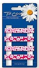 Parfumuri și produse cosmetice Agrafe de păr, 24726, roz - Top Choice