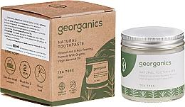 Parfumuri și produse cosmetice Pastă naturală de dinți - Georganics Tea Tree Natural Toothpaste