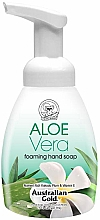 "Parfumuri și produse cosmetice Мыло-пенка для рук ""Алоэ вера"" - Australian Gold Foaming Hand Soap Aloe Vera"