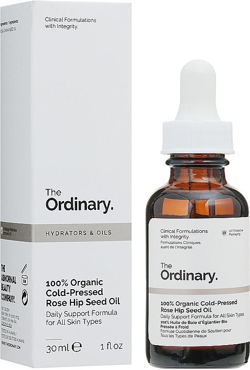 Ulei organic de semințe de măceș, presat la rece - The Ordinary Hydrators & Oils 100% Organic Cold-Pressed Rose Hip Seed Oil