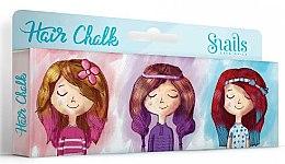 Parfumuri și produse cosmetice Elastice colorate pentru păr - Snails Hair Chalk