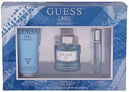 Parfumuri și produse cosmetice Guess 1981 Indigo for Women - Set (edt/100ml + b/lot/200 + edt/15ml)