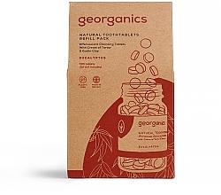"""Parfumuri și produse cosmetice Tablete pentru igiena orală """"Eucalipt"""" - Georganics Natural Toothtablets Eucalyptus (rezervă)"""