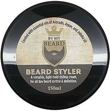 Cremă pentru barbă - By My Beard Beard Styler Light Hold Styling Cream