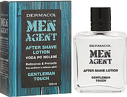 Parfumuri și produse cosmetice Loțiune după ras - Dermacol Men Agent After Shave Lotion Gentleman Touch