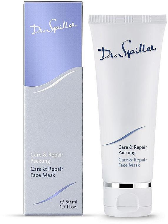 Восстанавливающая маска для молодой кожи - Dr. Spiller Care & Repair Face Mask — фото N1