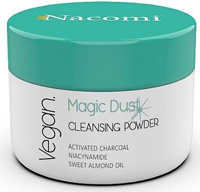 Очищающая пудра для лица для проблемной кожи - Nacomi Face Cleansing & Detoxifying Powder Magic Dust — фото N1