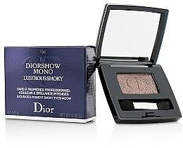 Parfumuri și produse cosmetice Fard de pleoape - Christian Dior Diorshow Mono Lustrous Smoky