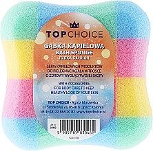 """Parfumuri și produse cosmetice Burete de baie """"pătrat"""" 30482, multicolor - Top Choice"""