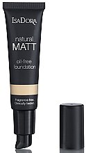 Parfumuri și produse cosmetice Fond de ten - IsaDora Natural Matt Oil-free Foundation