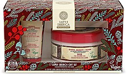 Parfumuri și produse cosmetice Set - Natura Siberica Super Siberica Professional Gift Set (hair/cr/50ml + hair/mask/300ml)