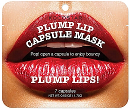 Parfumuri și produse cosmetice Ser în capsule pentru mărirea buzelor - Kocostar Plump Lip Capsule Mask Pouch
