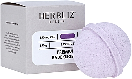 """Parfumuri și produse cosmetice Bombă de baie """"Lavandă"""" - Herbliz CBD"""