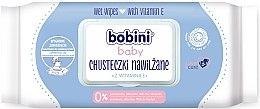 Parfumuri și produse cosmetice Șervețele umede cu vitamina E - Bobini