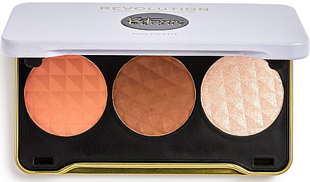 Paletă pentru contouring - Makeup Revolution Patricia Bright Face Palette