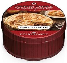 """Parfumuri și produse cosmetice Lumânare de ceai """"Warm Apple Pie"""" - Country Candle Warm Apple Pie Daylight"""