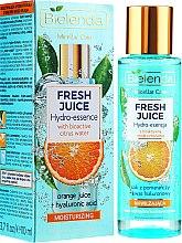 """Parfumuri și produse cosmetice Hidro-esență pentru față """"Portocală"""" - Bielenda Fresh Juice Hydro Essential Orange"""