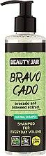 Parfumuri și produse cosmetice Șampon pentru păr - Beauty Jar Bravo Cado Natural Shampoo
