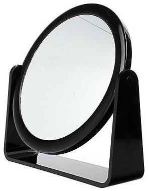Oglindă cosmetică, dublă, 85055, neagră - Top Choice