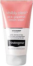 Parfumuri și produse cosmetice Cremă de spălare - Neutrogena Visibly Clear