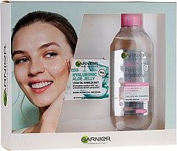 Parfumuri și produse cosmetice Set - Garnier Skin Naturals (gel/50ml + micellar/400ml)