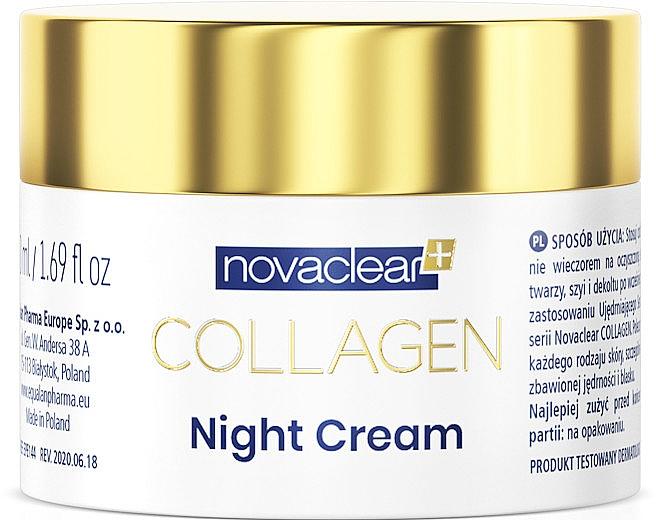 Cremă cu colagen, de noapte - Novaclear Collagen Night Cream