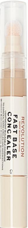 Консиллер для лица - Makeup Revolution Fast Base Concealer