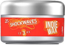 Parfumuri și produse cosmetice Ceară de păr - Wella Pro ShockWaves Indie Wax