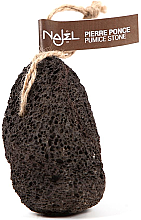 Parfumuri și produse cosmetice Piatră ponce - Najel Volcanic Pumice Foot Stone