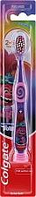 Духи, Парфюмерия, косметика Детская зубная щетка, 2-6 лет, фиолетово-розовая - Colgate Smiles Kids Extra Soft
