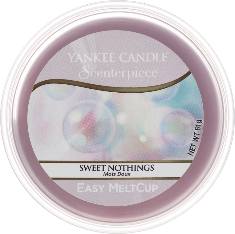 Ceară aromatică - Yankee Candle Sweet Nothings Melt Cup — Imagine N1